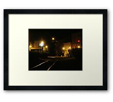7th Street Railway Framed Print