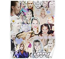 Heather Morris Collage Poster