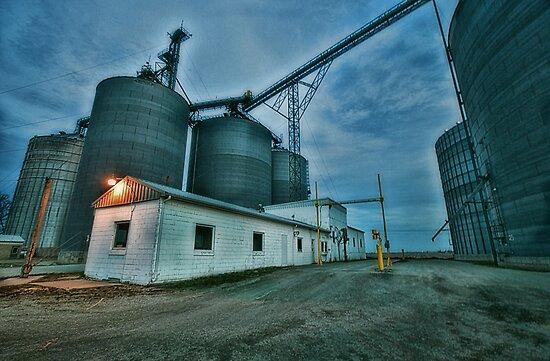 Grain Elevator by Studio601