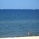 Lake Michigan in Summertime by BarbL