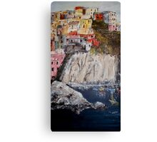 Harbour of Vernazza Canvas Print