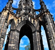 Scott Monument, Edinburgh by Jim Wilson