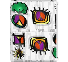 peace on earth iPad Case/Skin