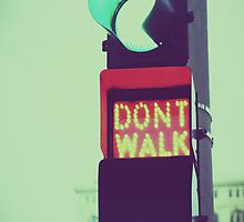 Don't Walk, Run by UrbanUtopia