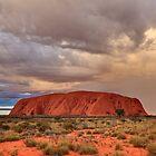 Ayers Rock (Uluru) Sunset, Australia by Michael Boniwell