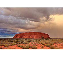 Ayers Rock (Uluru) Sunset, Australia Photographic Print
