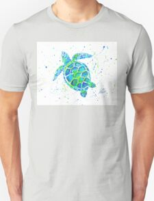 Sea Turtle by Jan Marvin Unisex T-Shirt