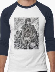 "Young War Doctor/ ""Doctor No More"" Men's Baseball ¾ T-Shirt"