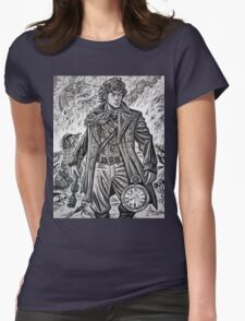"""Young War Doctor/ """"Doctor No More"""" Womens Fitted T-Shirt"""