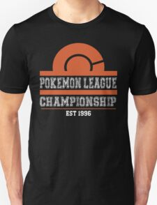 Pokemon League Championship - ORANGE T-Shirt