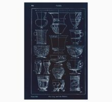 A Handbook Of Ornament With Three Hundred Plates Franz Sales Meyer 1896 0360 Vases Cup Beaker Inverted One Piece - Short Sleeve