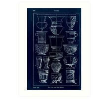A Handbook Of Ornament With Three Hundred Plates Franz Sales Meyer 1896 0360 Vases Cup Beaker Inverted Art Print