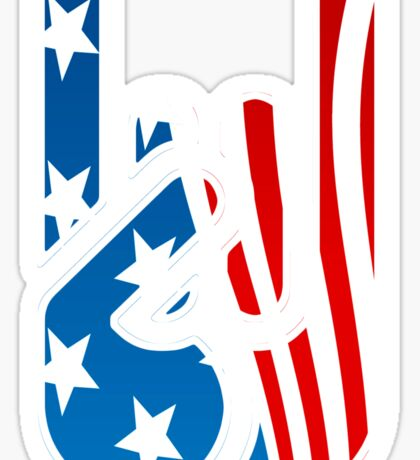 Rockin' USA Sticker