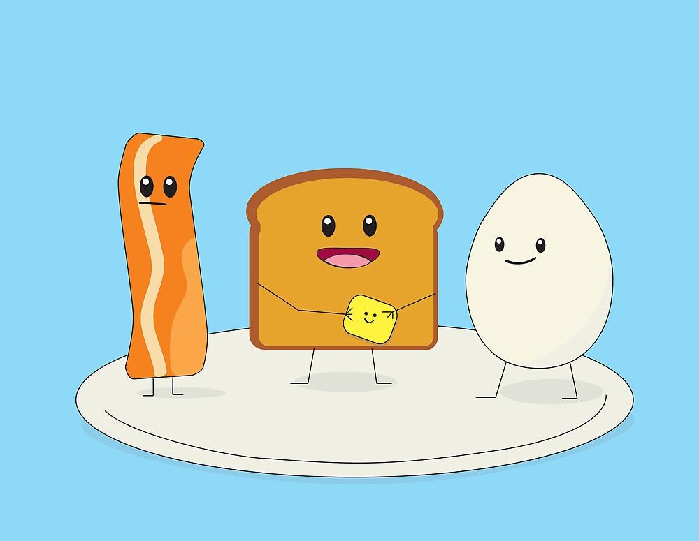 Good & Happy Breakfast by RocketGirl