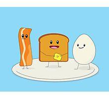 Good & Happy Breakfast Photographic Print