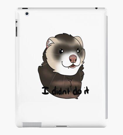 I Didn't Do It-Ferret iPad Case/Skin