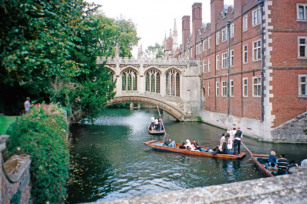 St. John's College, Cambridge, the Bridge of Sighs by Priscilla Turner