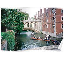 St. John's College, Cambridge, the Bridge of Sighs Poster