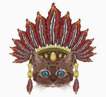 Leopard Kitten: Aztec Chief  One Piece - Short Sleeve