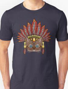 Leopard Kitten: Aztec Chief  T-Shirt
