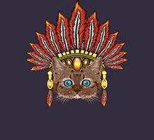 Leopard Kitten: Aztec Chief  Unisex T-Shirt