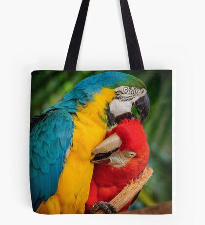 Macaws - Necking Tote Bag