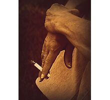 Cant kick the habit Photographic Print