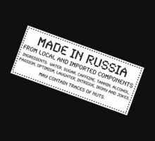 Traces of Nuts - Russia by Ron Marton