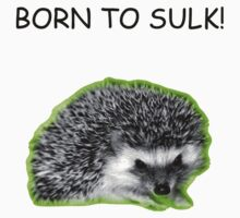 Born to Sulk...Radioactive Hedgehog Version! by Paul Rees-Jones