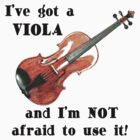 I've Got a Viola by evisionarts