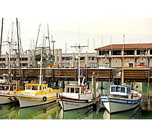 Fishermans Wharf Still Life  Photographic Print