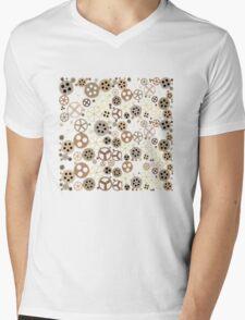 Gear Steampunk Mens V-Neck T-Shirt
