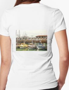 Fishermans Wharf Still Life  Womens Fitted T-Shirt