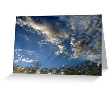 """Popcorn Clouds"" Greeting Card"