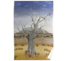 """""""The Old Gum Tree""""  SOLD Poster"""