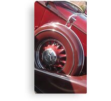 """Maroon Pierce"" Canvas Print"