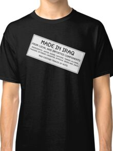 Traces of Nuts - Iraq Classic T-Shirt
