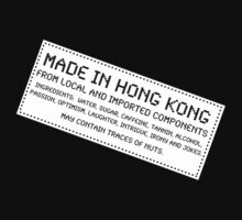 Traces of Nuts - Hong Kong by Ron Marton
