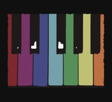 Piano Keys by evisionarts