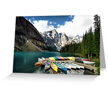 Moraine Lake, Banff NP Greeting Card