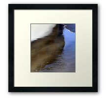 Between Land and Sea Framed Print