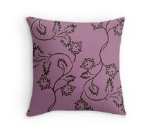 floral seamless pattern Throw Pillow