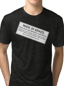 Traces of Nuts - Brazil Tri-blend T-Shirt