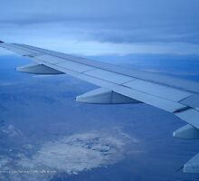 Flying Above | San Francisco - Las Vegas by © Sophie W. Smith