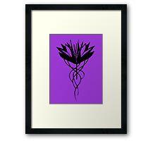 Devil's Rose Framed Print