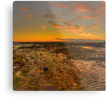 Expectations - Long Reef, Sydney (25 Exposure HDR Panorama) - The HDR Experience Metal Print