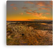 Expectations - Long Reef, Sydney (25 Exposure HDR Panorama) - The HDR Experience Canvas Print