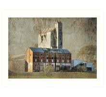 The Old Flour Mill Art Print
