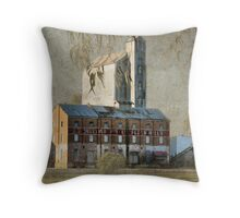 The Old Flour Mill Throw Pillow