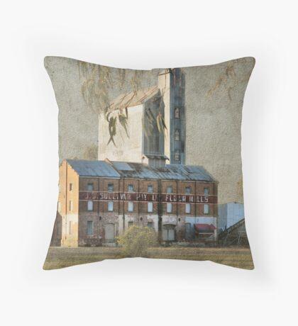 The Old Flour Mill Throw Pillow